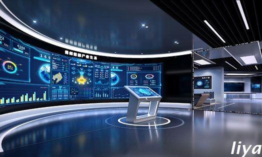 云上贵州信创中心-大数据中心展厅及办公装修设计