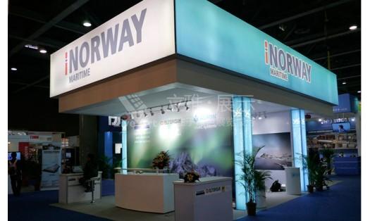 海事展挪威展台设计搭建案例