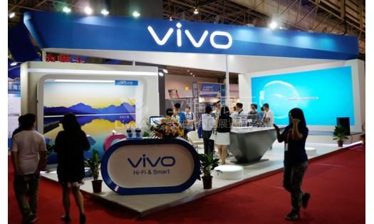 vivo电子科技展台设计搭建