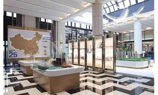 保利集团林语溪地产展厅设计装修