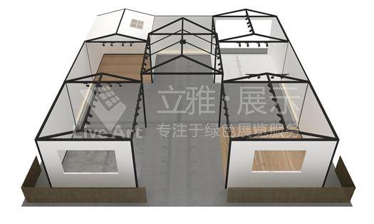 广州国际家具博览会广州旧用文化展位展台设计搭建
